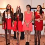 Galeriile Consiliului Județean Alba au găzduit astăzi un concert de colinde și o expoziție de pictură și grafică
