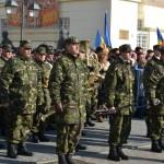 Peste 800 de militari vor participa la o paradă de excepție, la Alba Iulia, de 1 Decembrie