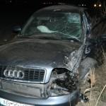 O persoană a fost rănită în urma unui accident rutier petrecut la ieșirea din Alba Iulia înspre Sebeș