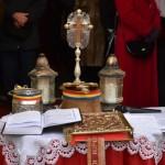 La Catedrala Reîntregirii Neamului din Alba Iulia a avut loc astăzi Sfinţirea Apei de Bobotează