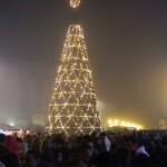 Trecerea dintre ani a atras în Piața Cetății din Alba Iulia peste trei mii de albaiulieni