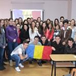 """Mica Unire din 1859 sărbătorită prin recitaluri, poezii şi discursuri, la Colegiul """"HCC"""" din Alba Iulia"""
