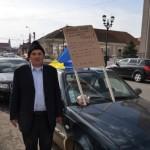 Protestatarul din Ocoliș a fost convins de Prefectul de Alba să renunțe la greva foamei