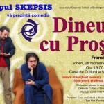 """Cultură a Studenţilor din Alba Iulia va găzdui pe 28 februarie spectacolul """"Dineu cu Proşti"""", de Francis Veber"""