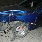 Un șofer beat, fără permis, a distrus tot ce i-a stat în cale în fața Catedralei din Alba Iulia