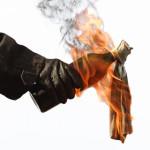 Supărat că nu mai primește de băut un tânar de 34 de ani a incendiat un local din Alba Iulia