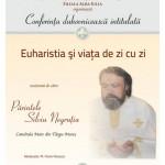 Facultatea de Teologie Ortodoxă din Alba Iulia va fi gazda conferinței duhovnicești susţinute de Părintele Silviu Negruţiu