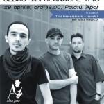 Palatul Apor va găzdui astăzi cu începere de la ora 17 concertul formației Sebastian Spanache Trio în prefațarea Alba Jazz Festival