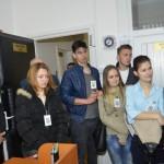 Inspectoratul Județean de Poliţie Alba a fost astăzi gazda elevilor Colegiului Naţional HCC din Alba Iulia