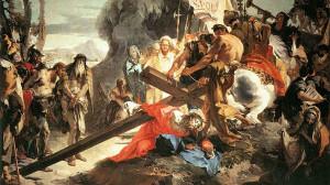 Iisus-purtand-crucea
