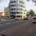 Accident rutier la Alba Iulia soldat cu rănirea unui motociclist