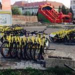 Mâine se dă startul plimbărilor cu bicicletele iVelo în Alba Iulia
