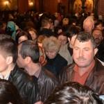Sute de credincioși au participat la slujba specială de Florii oficiată la Catedrala Ortodoxă din Alba Iulia