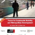 În 8 și 9 aprilie la Alba Iulia vor avea loc lucrările Forumului pentru Mobilitate Durabilă şi Dezvoltare Metropolitană