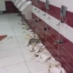 Dosar penal pentru un tânăr din Sântimbru după ce a distrus toaleta unui bar din Alba Iulia
