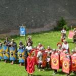 Bătalie daco-romană la Festivalul Roman Apulum de la Alba Iulia