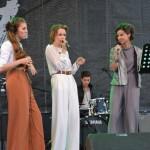 Concert de muzică boogie, swing și bossa oferit albaiulienilor de către trupa 3 O'CLOCK
