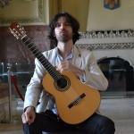 Sala Unirii din Alba Iulia a fost astăzi gazda unui concert de chitara clasică susținut de Dávid Pavlovits