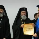 Astăzi la Universitatea 1 Decembrie din Alba Iulia, ÎPS Laurenţiu Streza a primit titlul academic de Doctor Honoris Causa