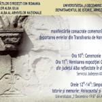Joi 26 iunie, la Alba Iulia se vor comemora 70 de ani de la deportarea evreilor din Transilvania de Nord