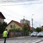 Femeie de 39 de ani accidentată pe o trecere de pietoni situată pe Bulevardul Horea din Alba Iulia