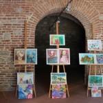 """Galeria CJ Alba a găzduit expoziția de pictură """"Zâmbetul florilor"""""""