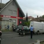 Accident rutier în lanț produs pe Calea Moților din Alba Iulia