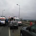 6 autovehicule implicate într-un accident rutier la intrarea în Alba Iulia dinspre Sebeș