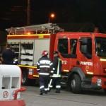 Exercițiu de simulare a unui incendiu la o benzinărie din Alba Iulia