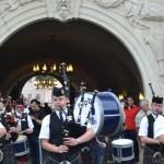 Scottish Pipes Band a deschis cea de-a III-a ediție a Festivalului Dilema Veche de la Alba Iulia