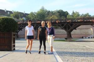 Elena-Udrea-Jogging-Cetatea-Alba-Carolina