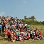 Tabără de vară la Sălciua pentru cercetașii din Alba Iulia