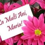 Mesaje, SMS de felicitare și urări de SFÂNTA MARIA 2014 | albaiuliainfo.ro
