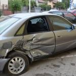 Accident rutier soldat cu pagube materiale produs la intersecția dintre B-dul. Încoronării și Str. Lalelelor din Alba Iulia
