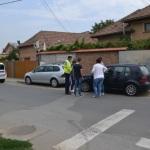 O femeie a fost acroșată de un autoturism pe o trecere de pietoni situată pe B-dul. Republicii din Alba Iulia