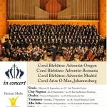 """Mâine: Concert coral inedit la Catedrala Romano-Catolică """"Sfântul Mihail"""" din Alba Iulia"""