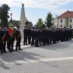 Ceremonial militar și avansări în grad la Alba Iulia cu ocazia Zilei Pompierilor din România