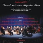 Orchestra de camera a judetului Alba va susține în 26 octombrie un concert aniversar