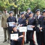 """Participarea la campionatul militar de orientare le-a adus elevilor de la Colegiul """"Mihai Viteazul"""" din Alba Iulia locuri fruntașe"""