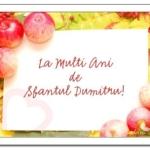 MESAJE de SFANTUL Dumitru 2014: Felicitări, urări, SMS-uri pe care le poți trimite celor care își sărbătoresc onomastica | albaiuliainfo.ro