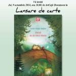 """Mâine la ArtCafe Downtown, albaiulianul Lucian Dragoș Bogdan își lansează cartea """"Vraciul de pe norul Interior"""""""