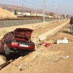 Din cauza vitezei cu care rula, un autoturism a ajuns în șanțul de pe marginea șoselei de centură a municipiului Alba Iulia