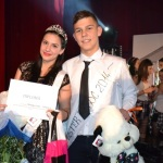 Miss şi Mister Boboc 2014 ai Liceului Sportiv din Alba Iulia sunt Amela Smajlovic şi Bogdan Dobrescu