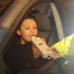 Femeie de 41 de ani din Ighiu surprinsă beată la volan în urma unui control, pe DJ 107 H
