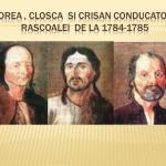 Dialog istoric despre Horea, Cloşca şi Crişan – astăzi la Alba Iulia