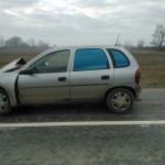 Accident rutier soldat cu rănirea a două persoane pe DJ 107, lângă Drîmbar