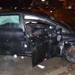 O femeie a fost rănită după o coliziune între două autovehicule petrecută pe Calea Moților din Alba Iulia