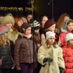 Concert de colinde în Piața Cetății din Alba Iulia