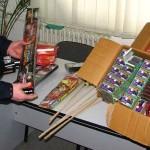 25.000 de articole pirotehnice confiscate de poliţiştii din Alba Iulia