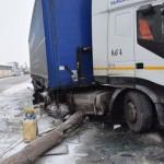 O persoană a fost rănită în urma unui accident rutier petrecut pe șoseaua de centură a municipiului Alba Iulia